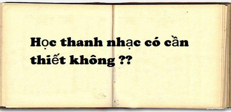 Học thanh nhạc ở đâu Hà Nội, có cần thiết không?